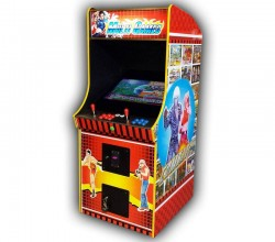 2100-in-1 games upright arcade (hire)